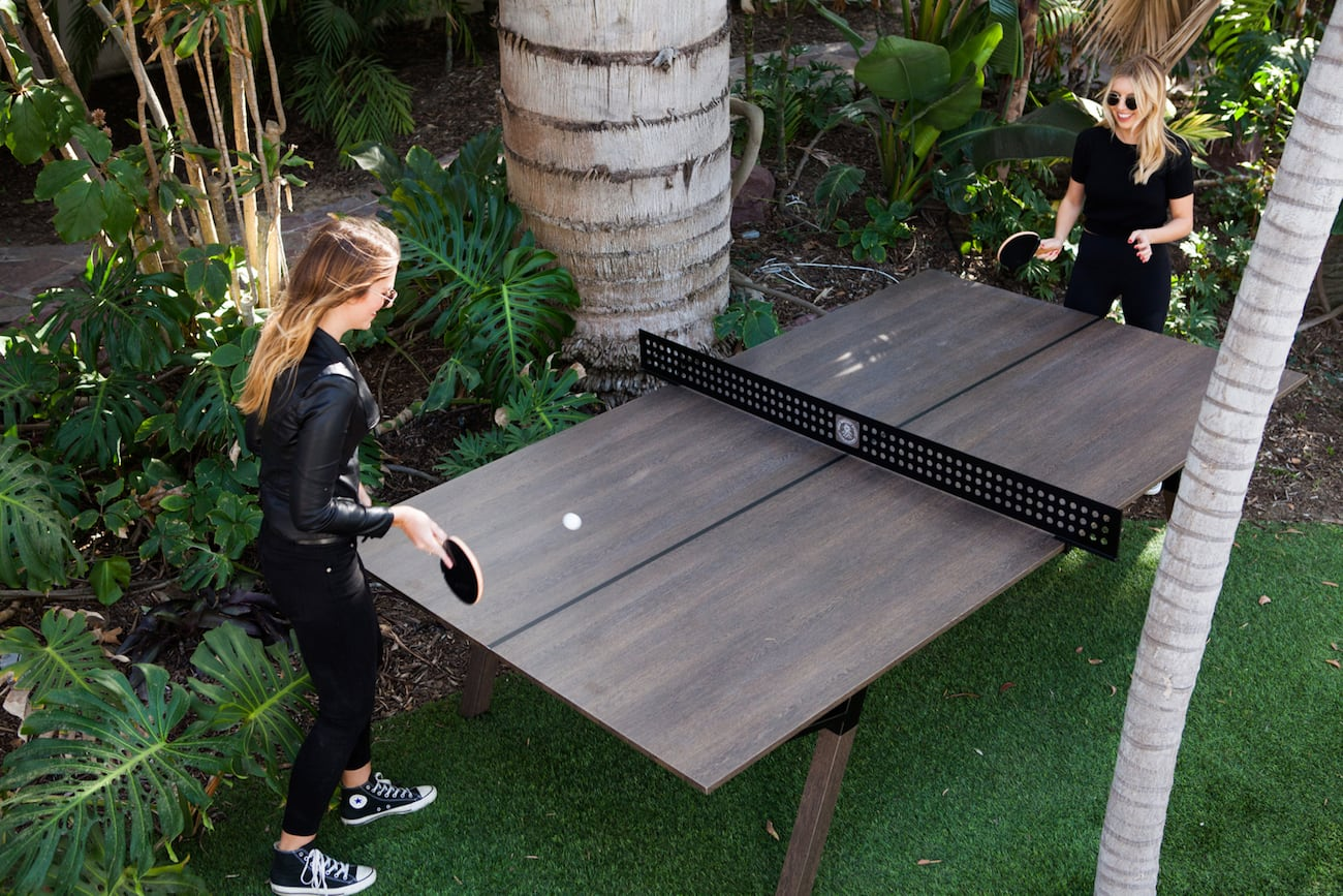 Woolsey Outdoor Ping Pong Table 187 Gadget Flow