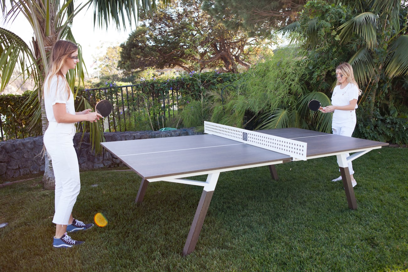 woolsey outdoor ping pong table gadget flow. Black Bedroom Furniture Sets. Home Design Ideas