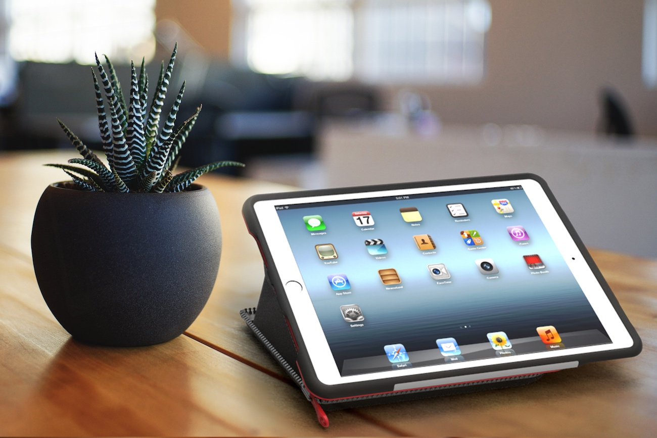 ZYP+2-in-1+Adjustable+IPad+Stand+And+Case