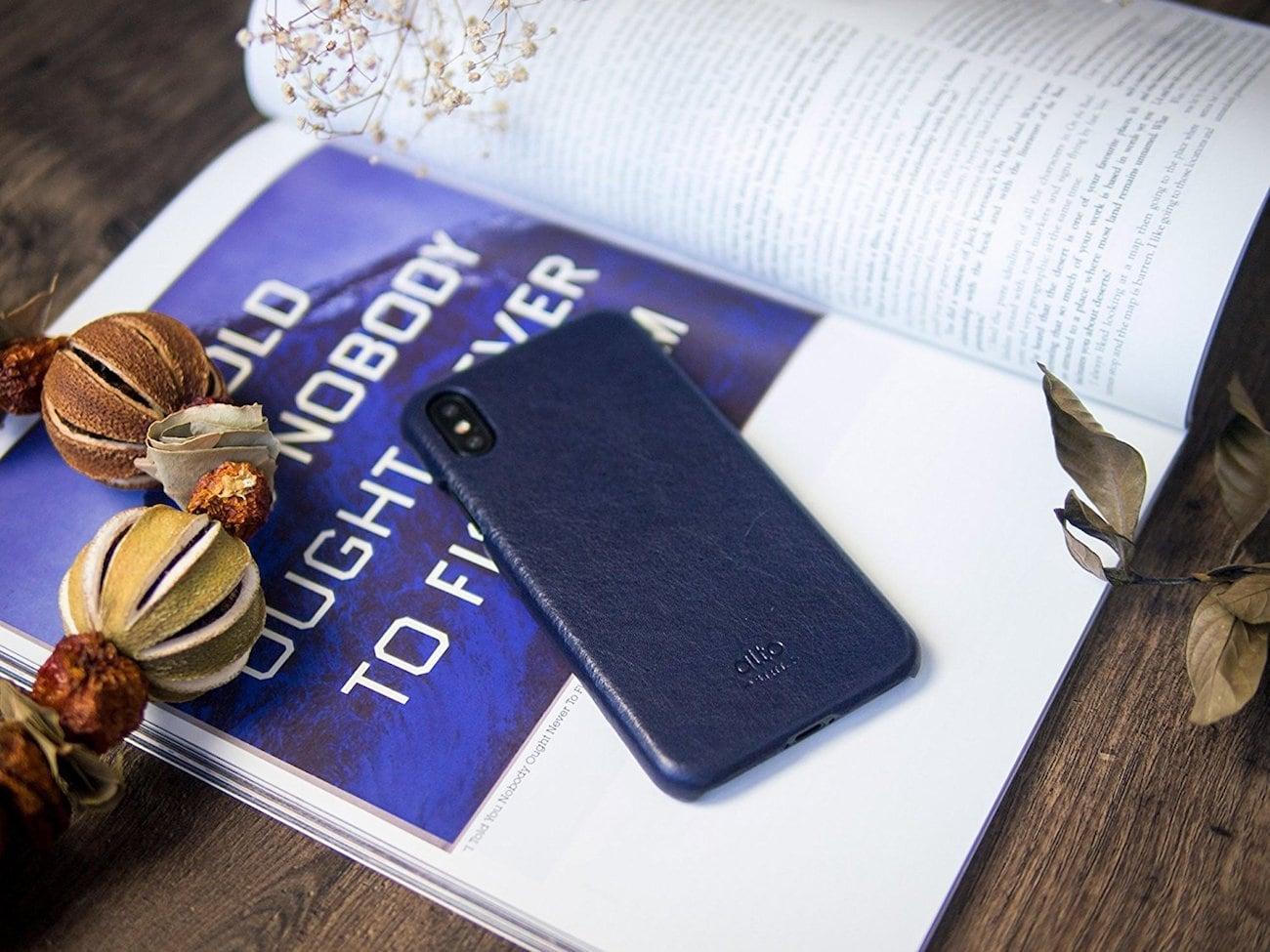 alto Handmade Leather iPhone X Case