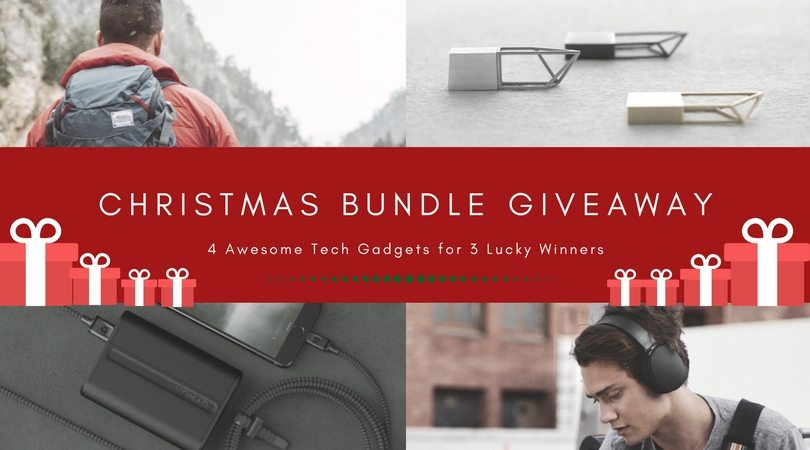 Christmas+Giveaway+Bundle+%26%238211%3B+4-Pack+Tech+Gadget+Gifts+for+3+Winners