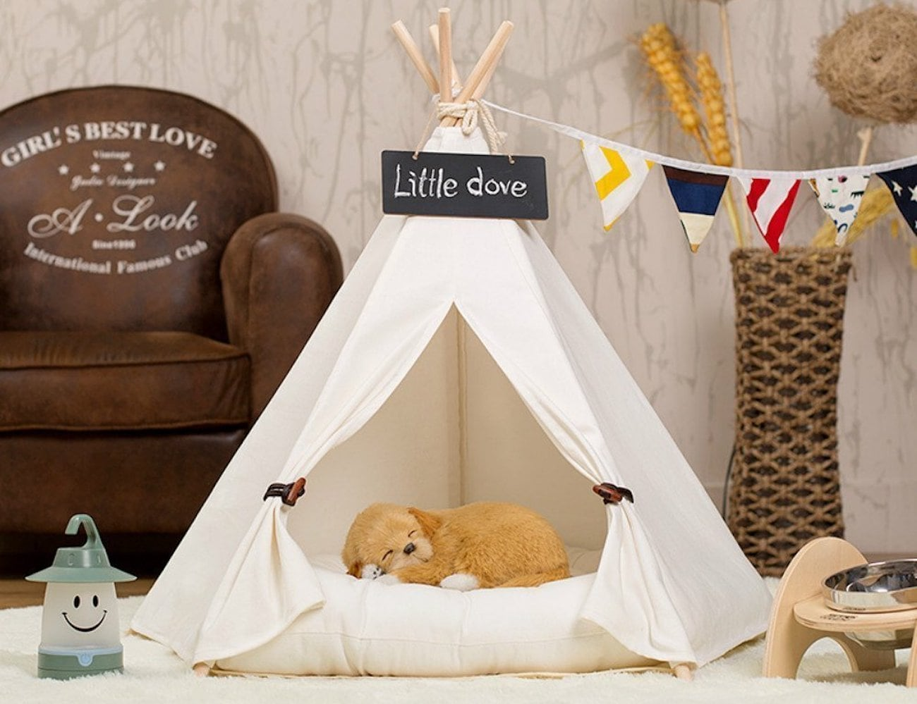 Little+Dove+Portable+Pet+Tepee
