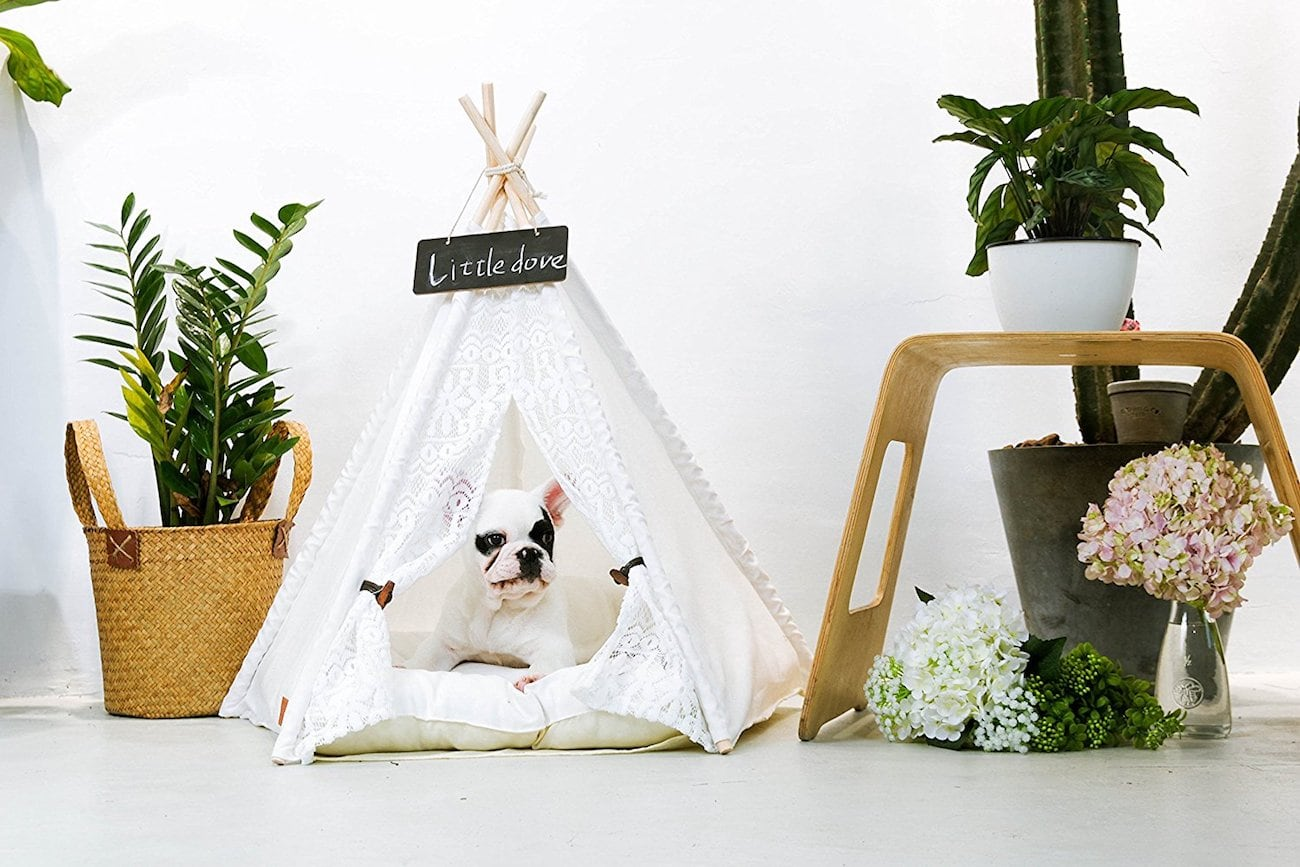 little dove Portable Pet Tepee