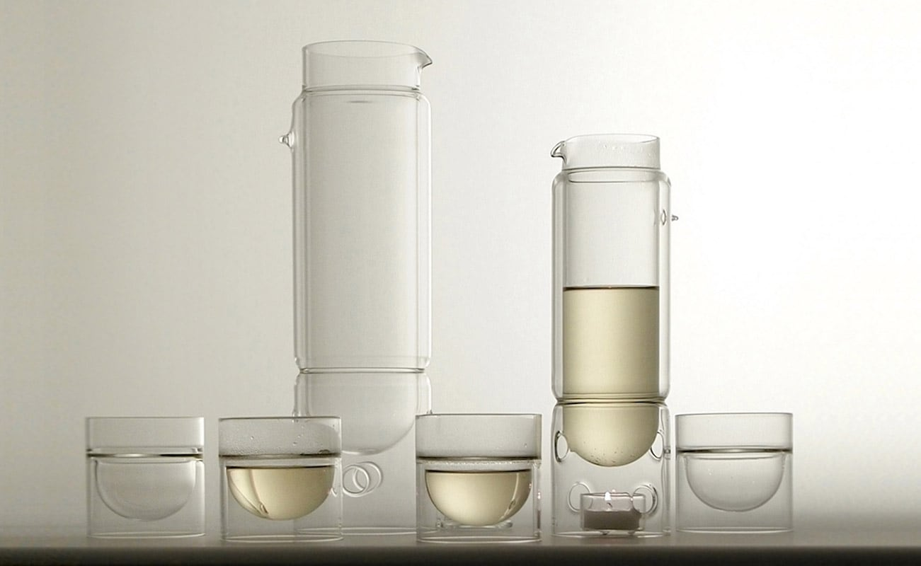 molo float tea lantern Glass Teapot