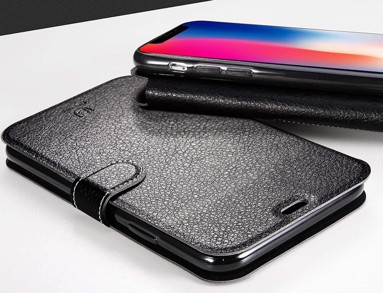 iPhone X Precision-Cut Flip Case