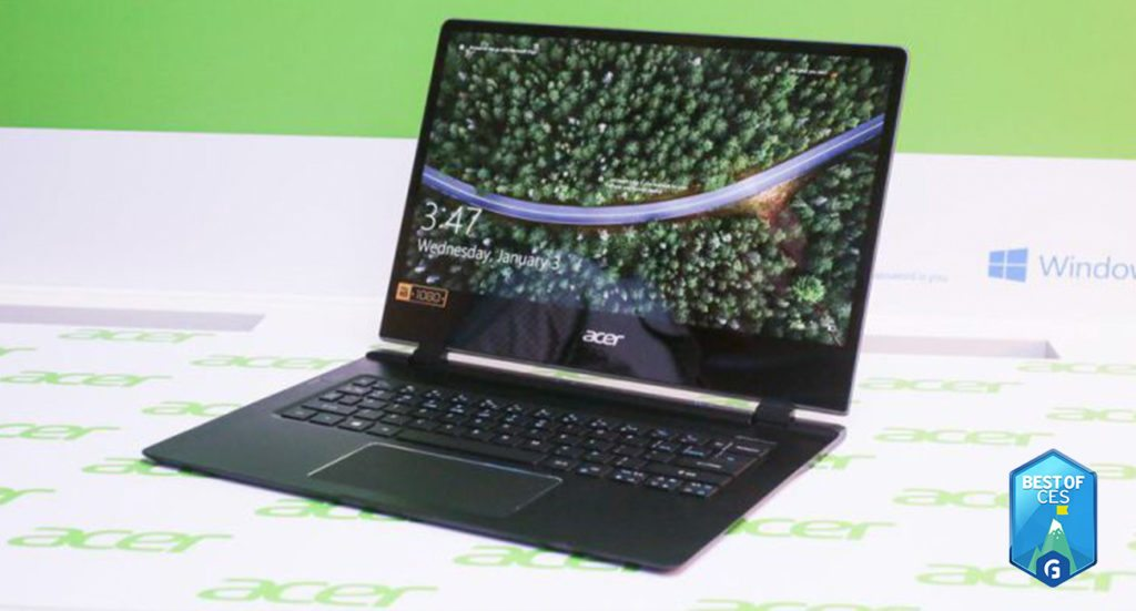 Acer Swift 7 Laptop CES 2018