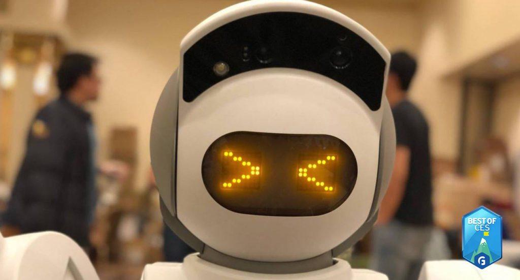 Aeolus Smart Home Robot CES 2018