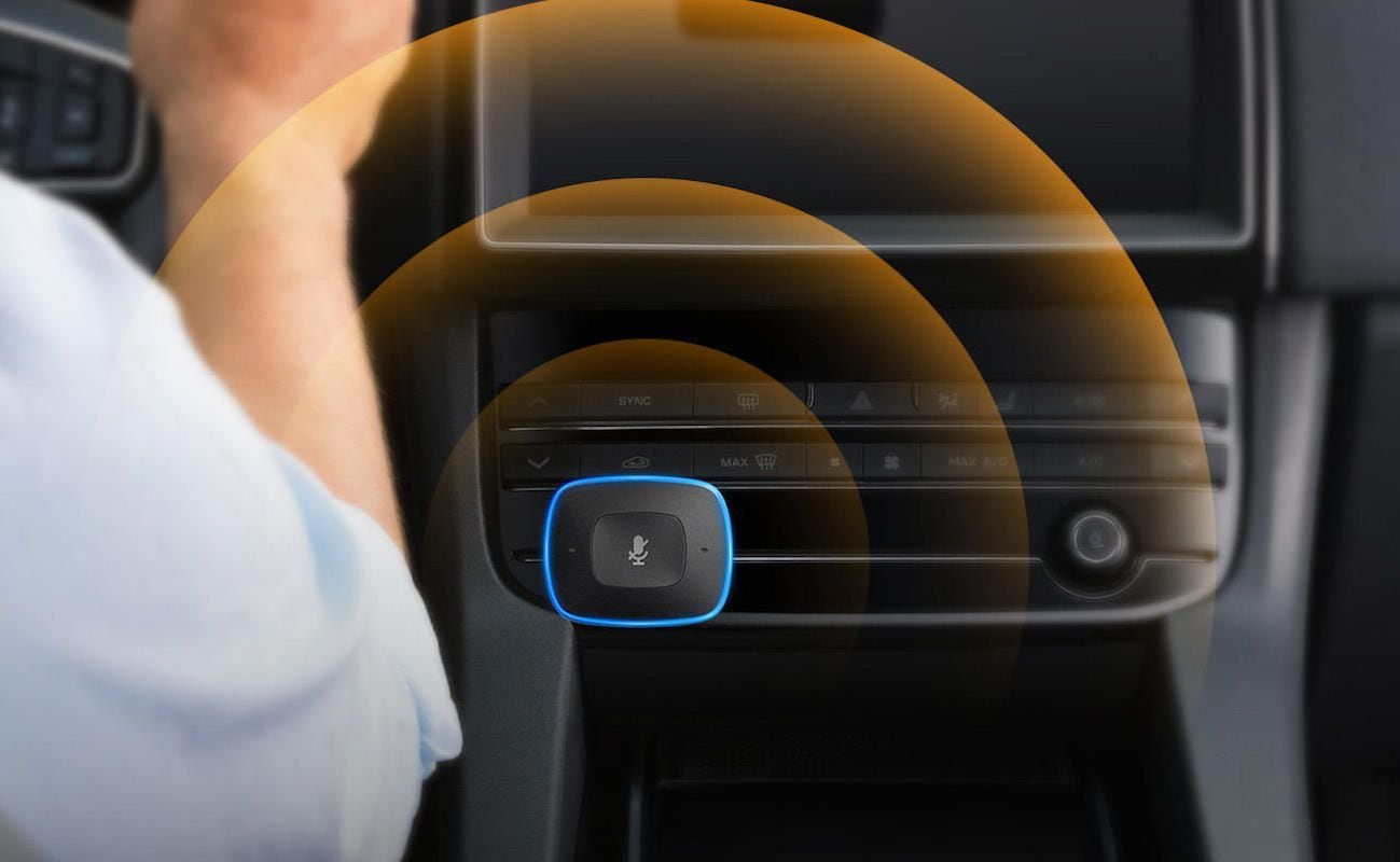 Anker Roav Viva Alexa Car Button