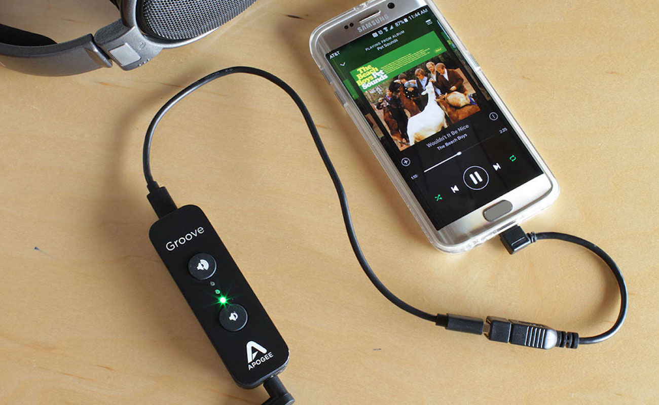 Apogee Groove Portable Headphone Amplifier