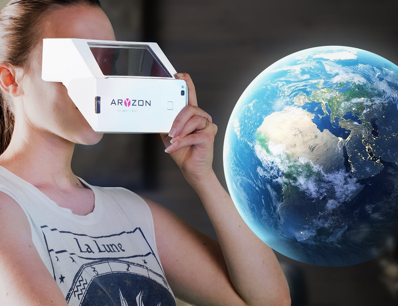 Aryzon 3D AR Smartphone Headset