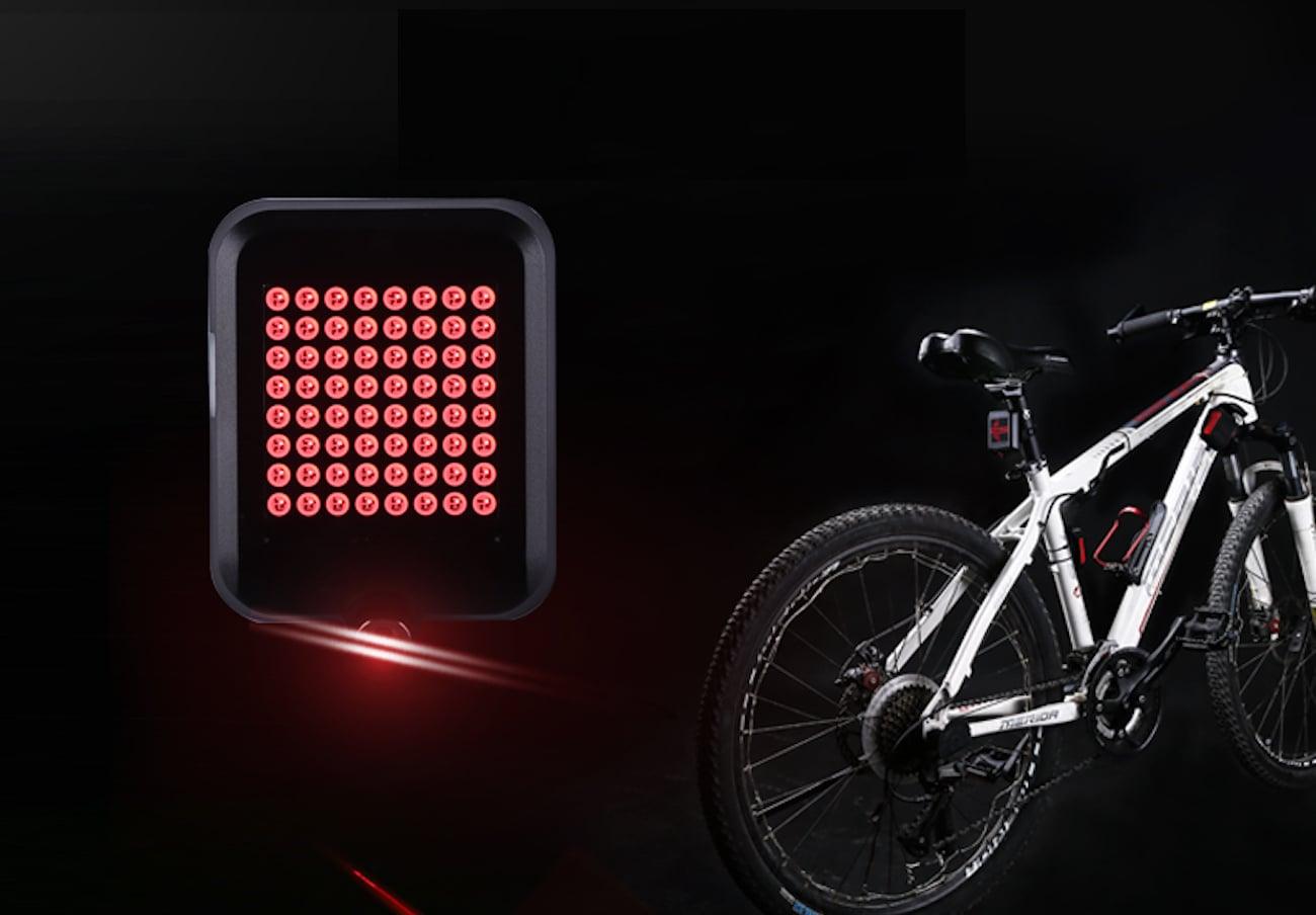 Automatic Indicator Bike Taillight