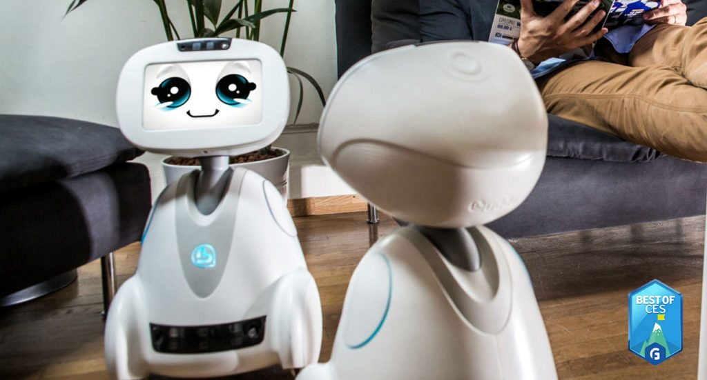 BUDDY – Your Family's Companion Robot CES 2018