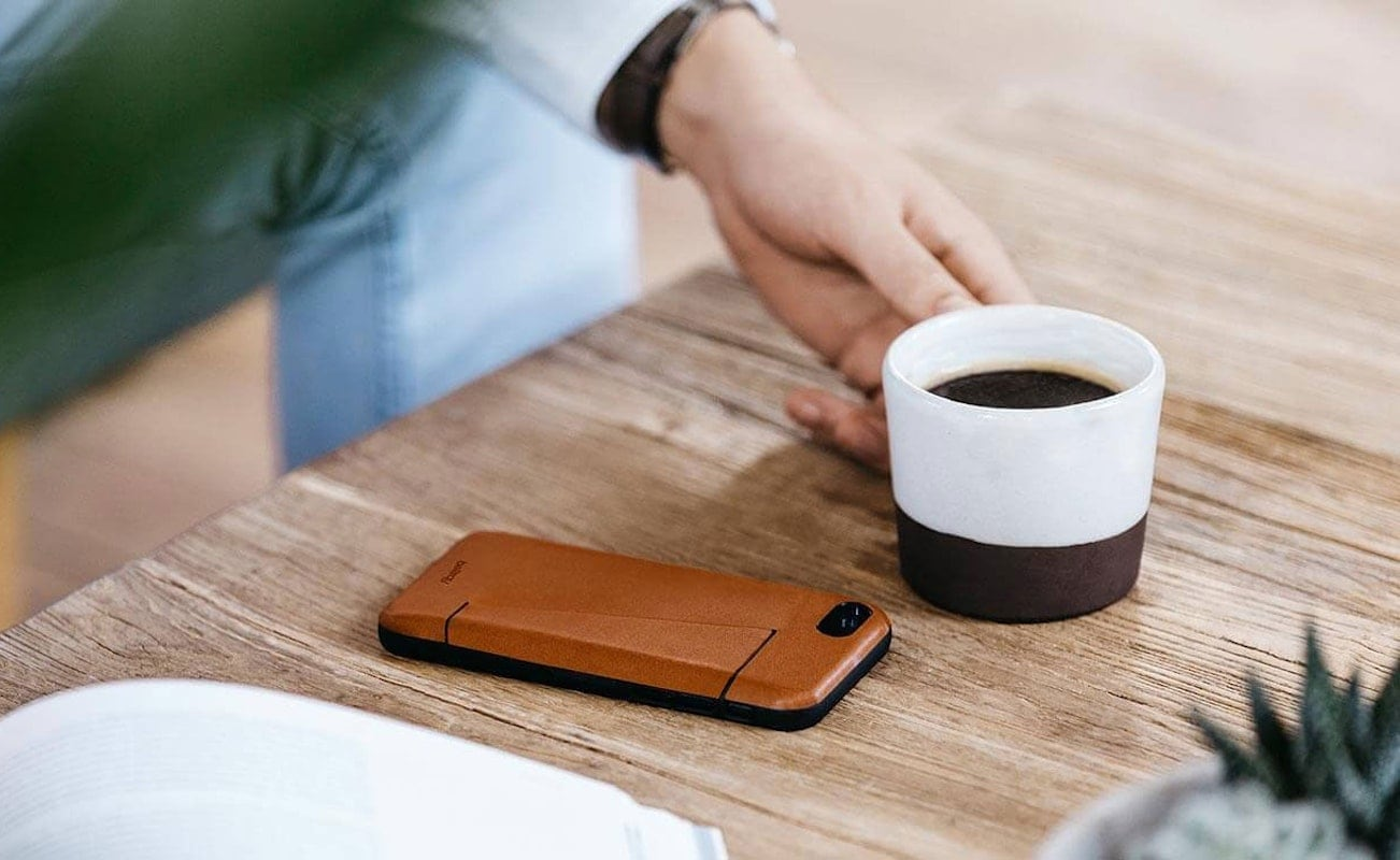 Bellroy 3-Card Leather Phone Case