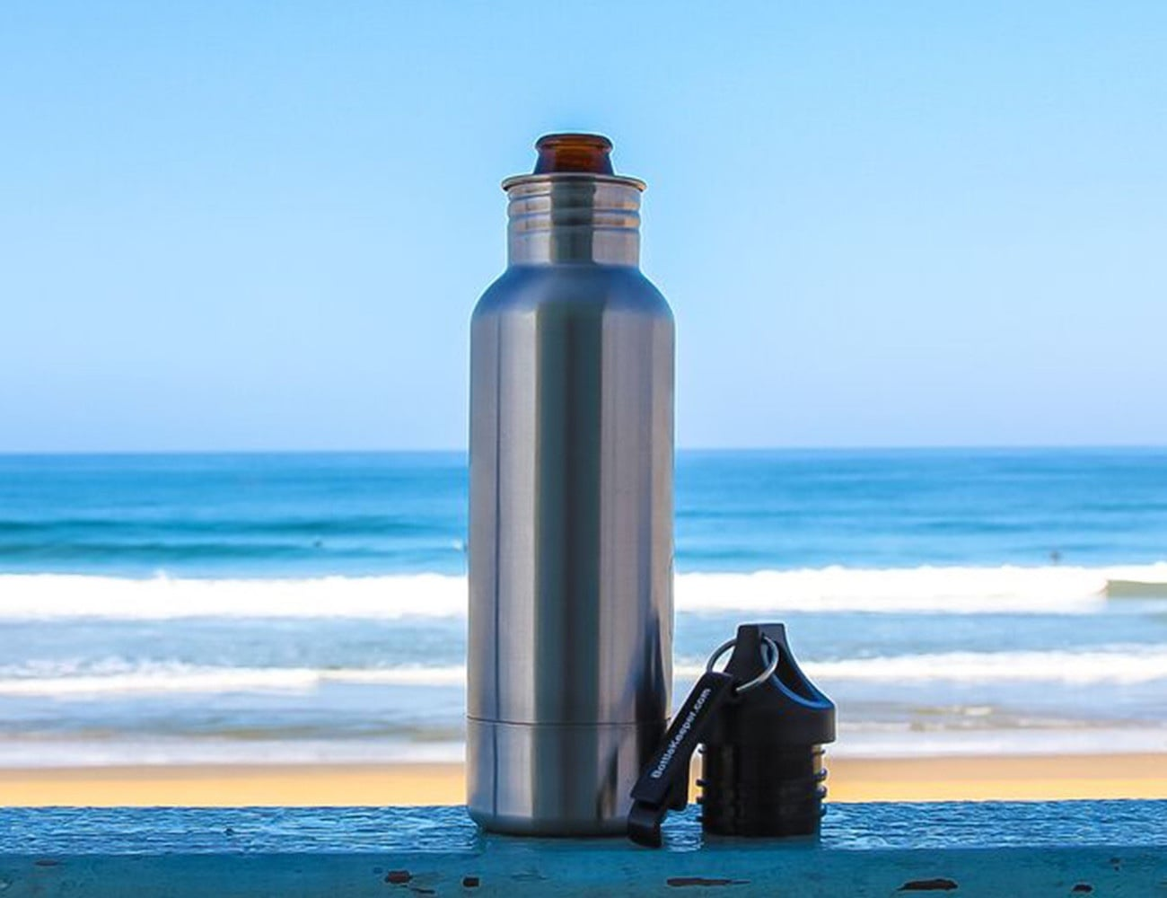 BottleKeeper Stainless Steel Beer Bottle Insulator
