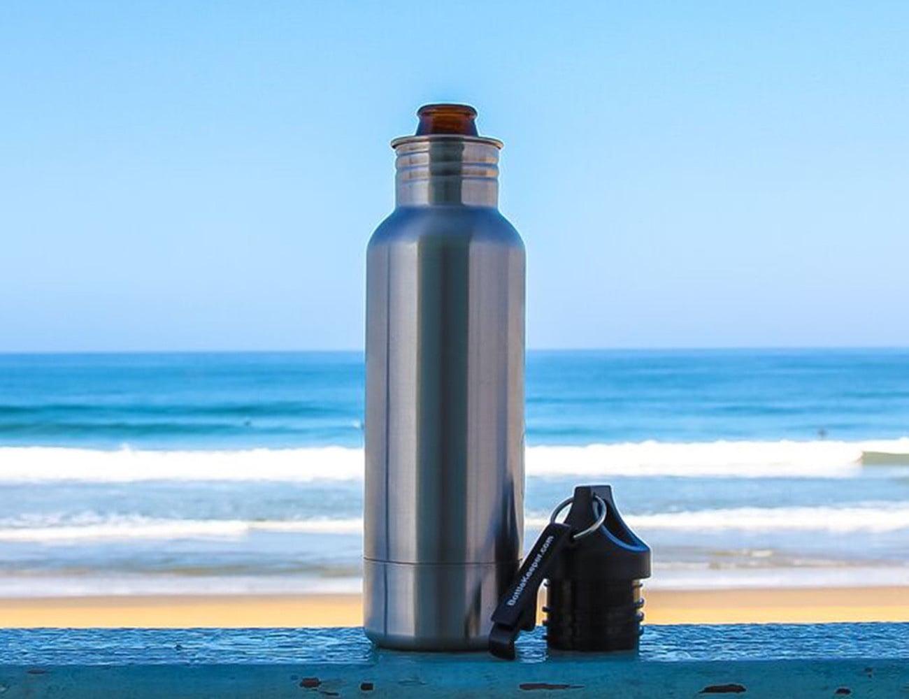 BottleKeeper Stainless Steel Beer Bottle Insulator