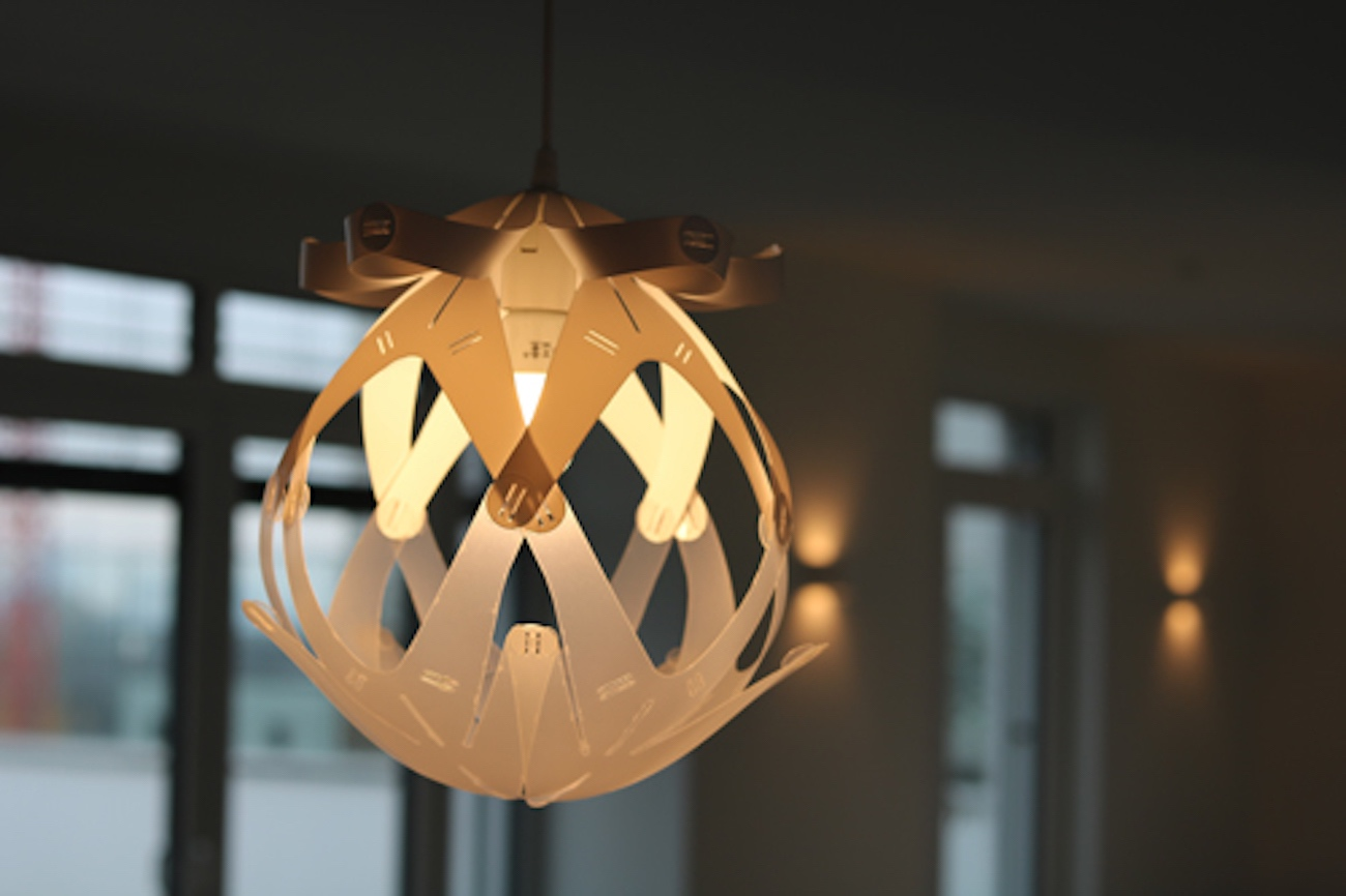 Button Loop Lamp Convertible Lamp Shade Kit