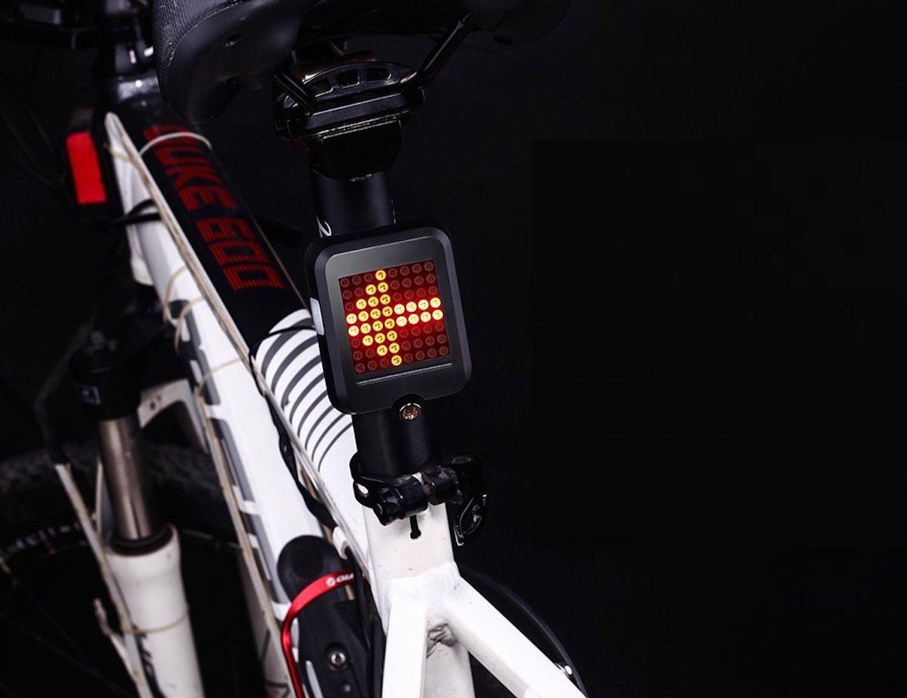 CHFUN Rechargeable Bike Tail Light