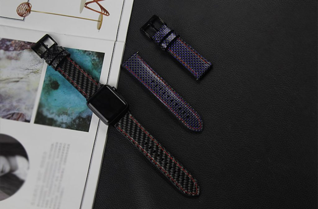 Carbon+Fiber+Apple+Watch+Straps