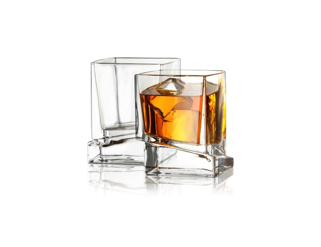 Carre Square Scotch Glasses