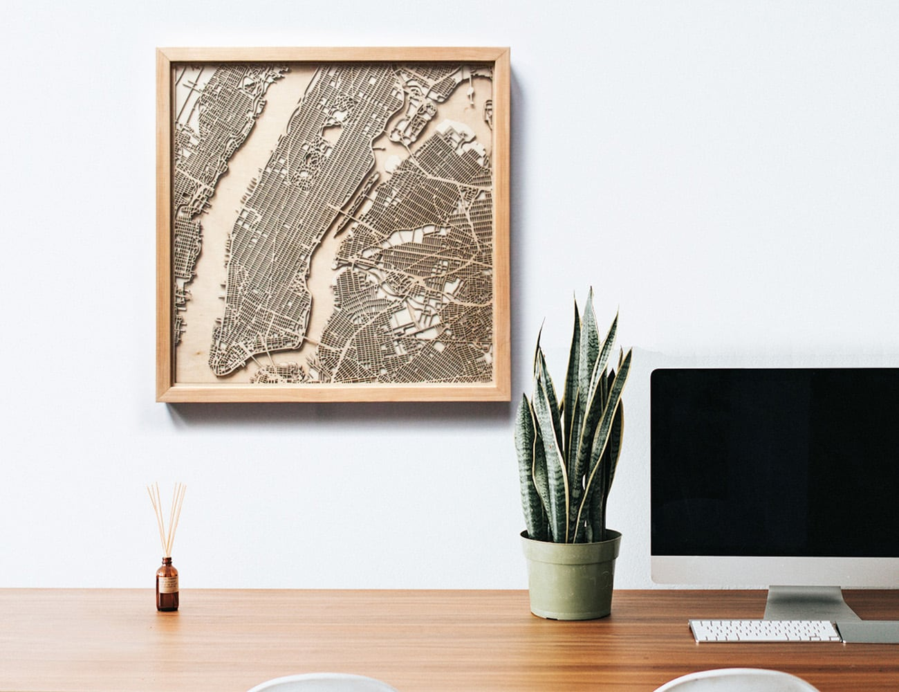 CityWood+Minimal+3D+Wooden+Maps