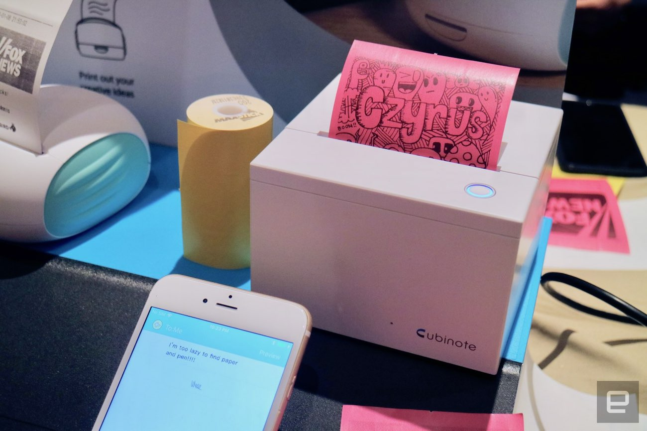 Cubinote Sticky Note Printer