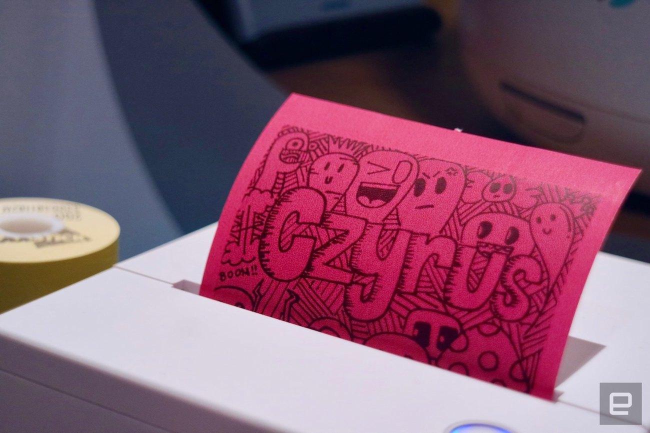 Cubinote Sticky Note Printer