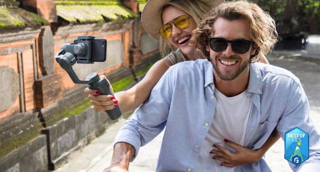 DJI Osmo Mobile 2 Handheld Smartphone Gimbal CES 2018