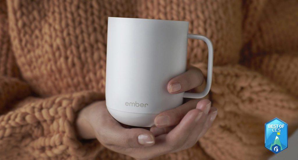 Ember Ceramic Smart Coffee Mug CES 2018