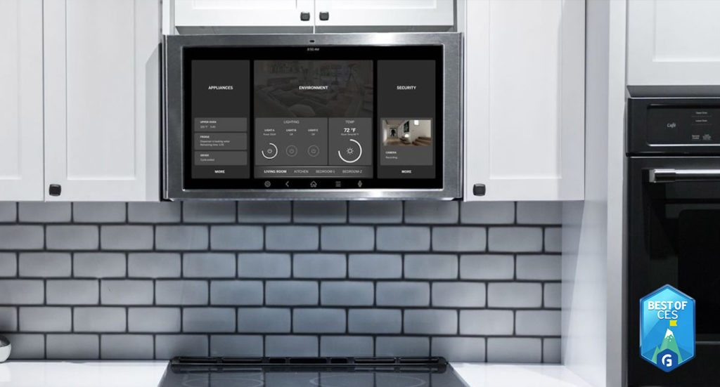 GE Appliances Family Hub Kitchen Tablet CES 2018