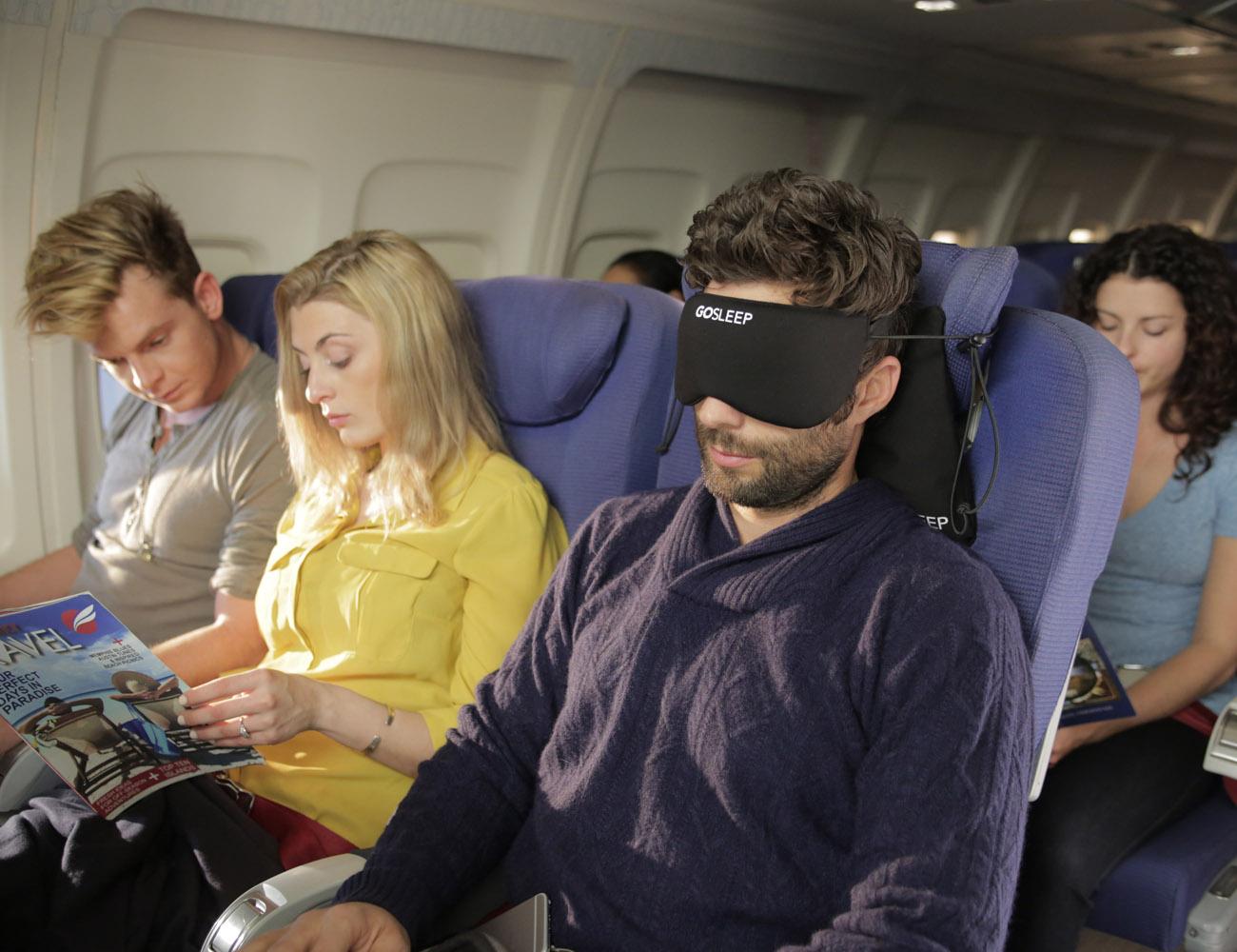 GOSLEEP 2-in-1 Travel Pillow Set