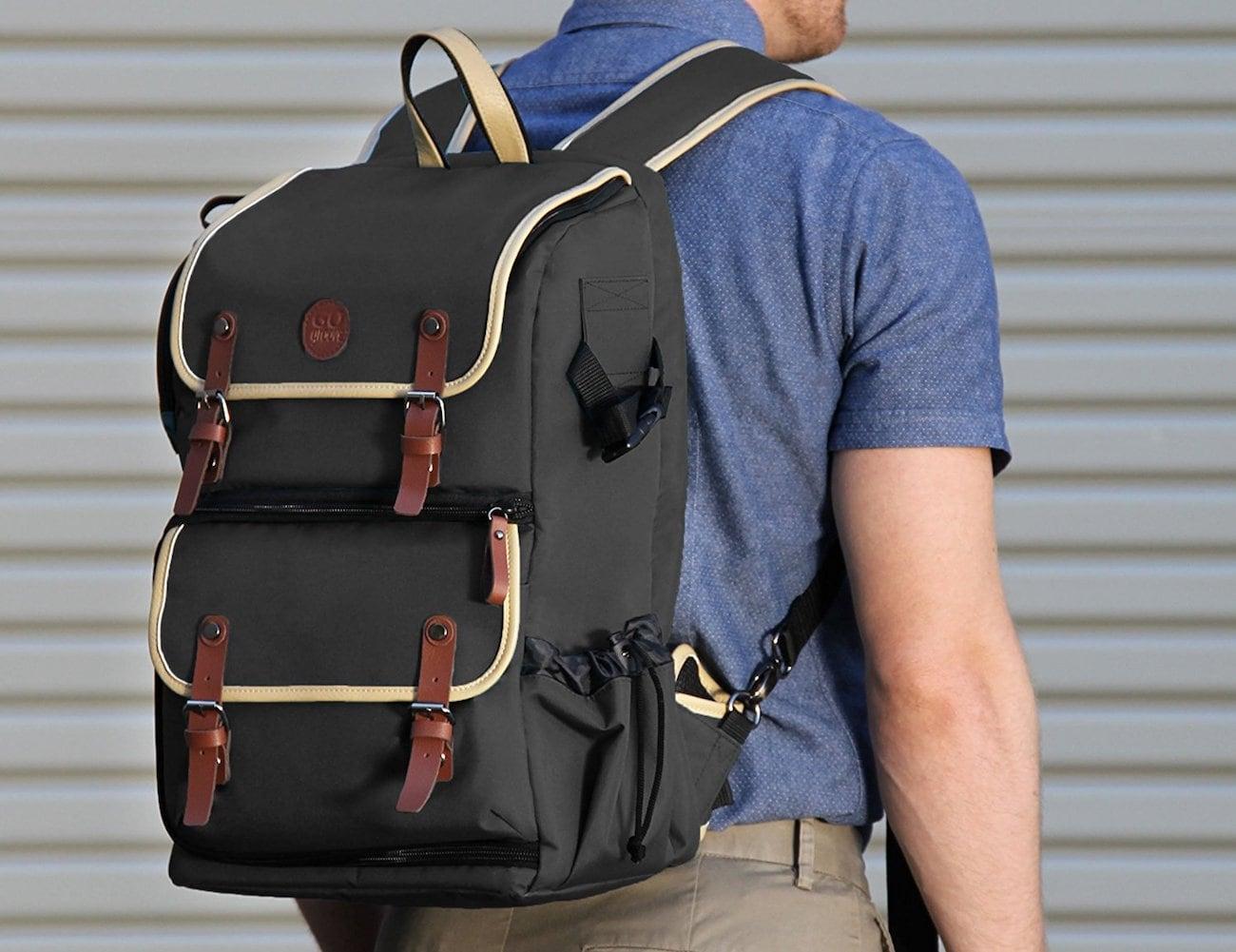 GOgroove DSLR Camera Backpack