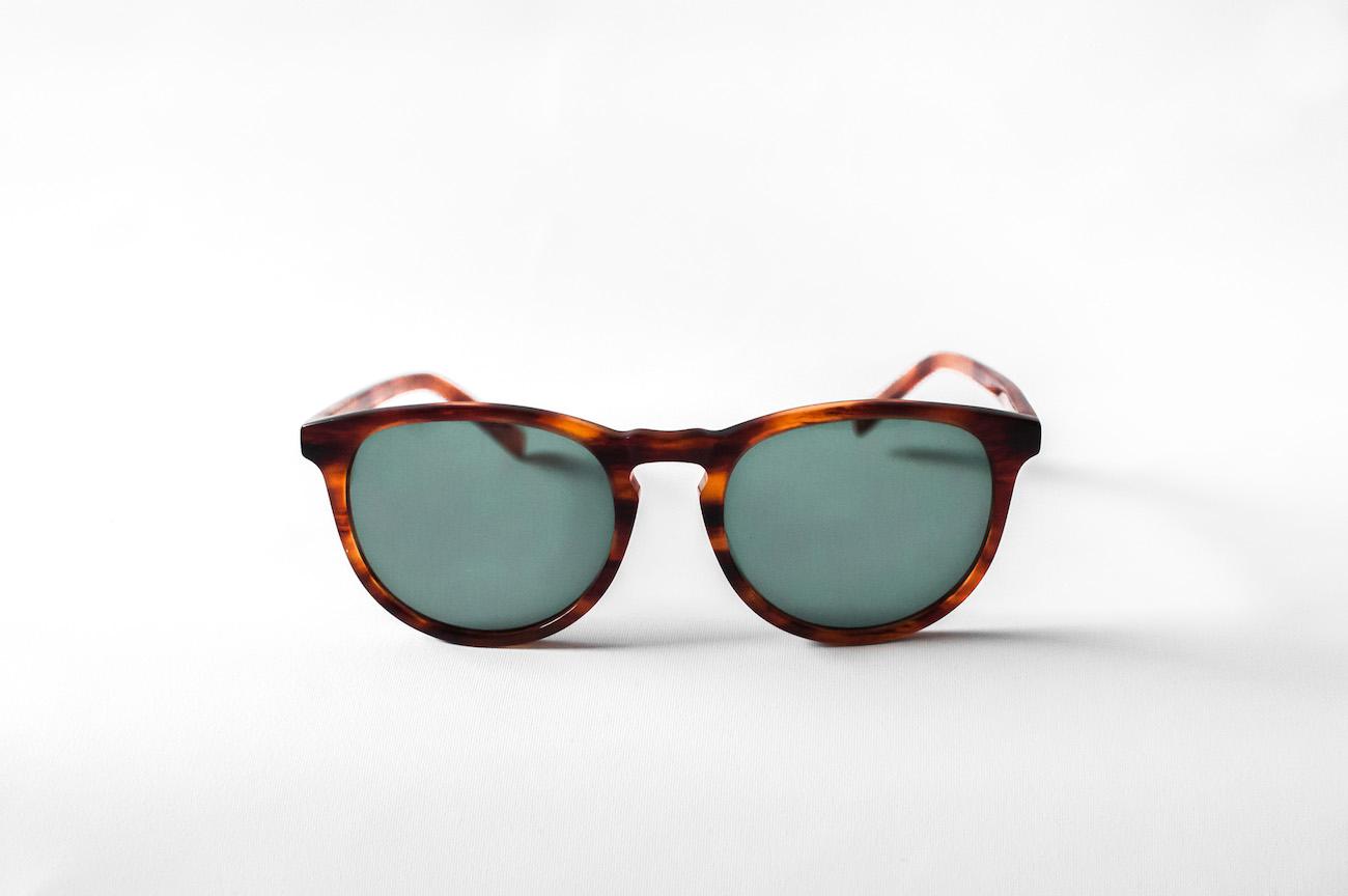 HOFF Titanium and Acetate Sunglasses