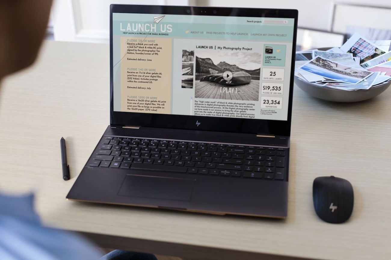 HP Spectre x360 15 Convertible Laptop