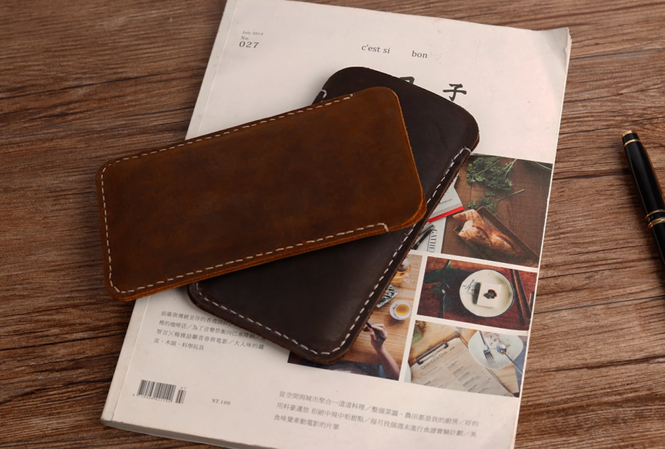 Handmade Everyday iPhone X Wallet Case