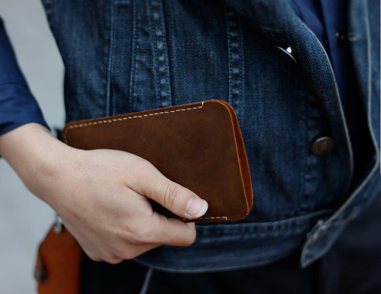 Handmade Everyday iPhone X Wallet Case