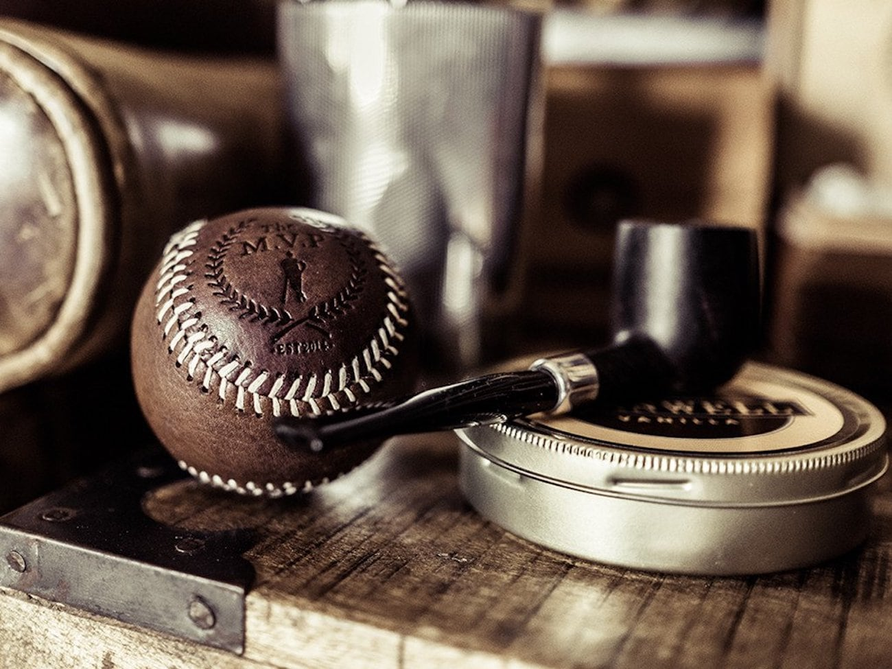 Heritage Vintage Leather Baseball
