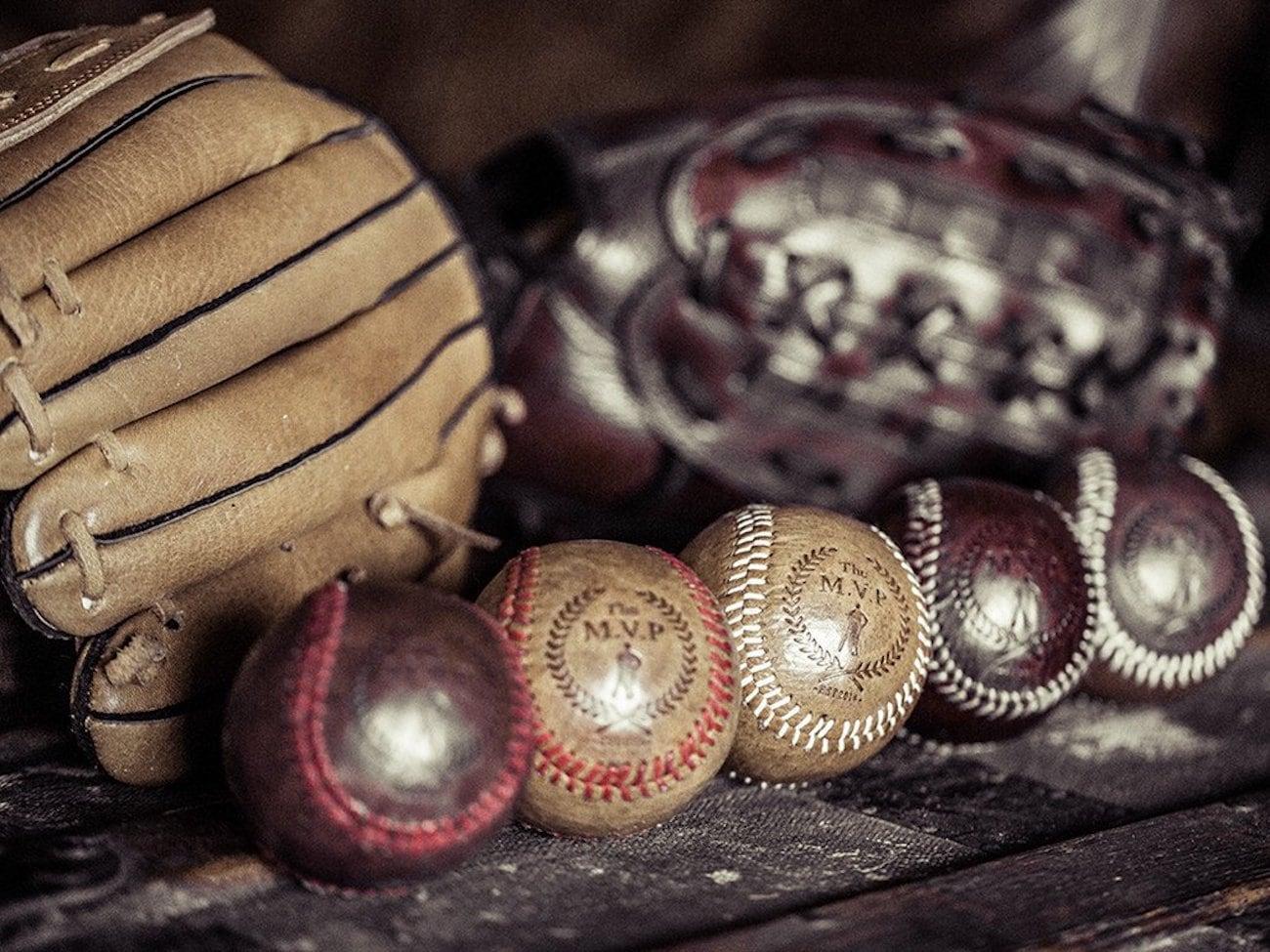 Heritage Vintage Leather Baseball