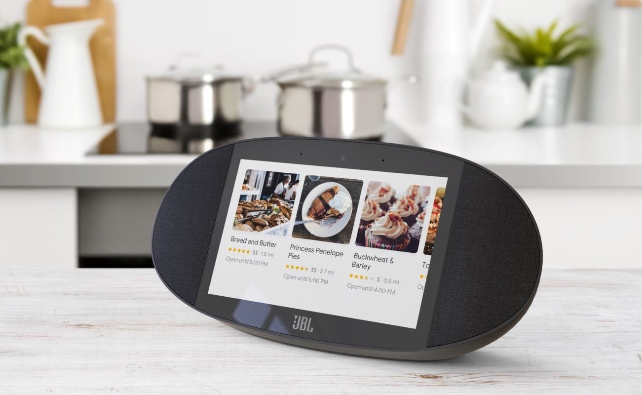JBL Link View Google Assistant Display