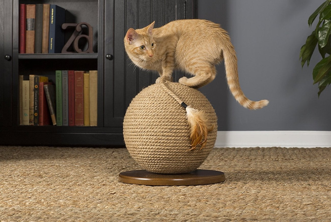 Kitty Power Paws Jute Cat Sphere