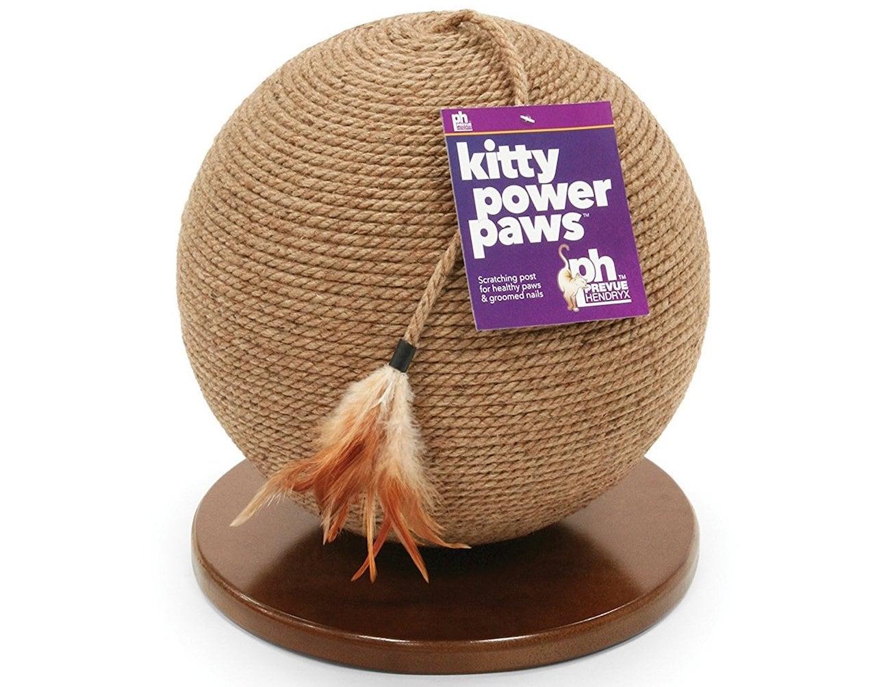 Kitty Power Paws Jute Cat Sphere