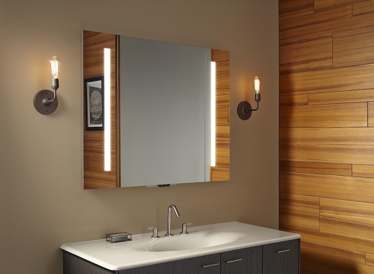 Voice+Lighted+Smart+Mirror