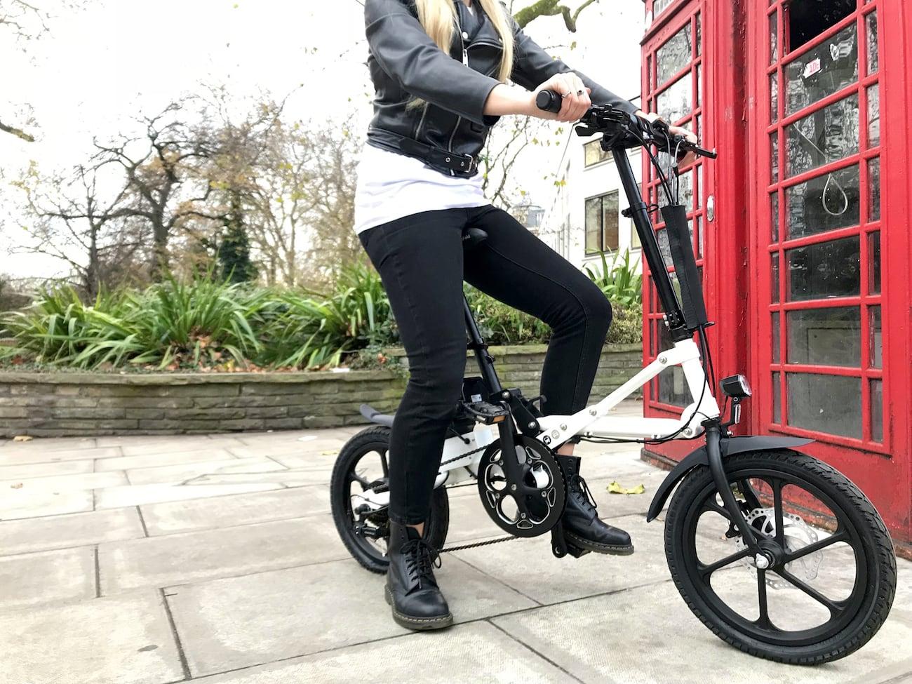 Kwikfold Ultra Quick Folding Bikes 187 Gadget Flow