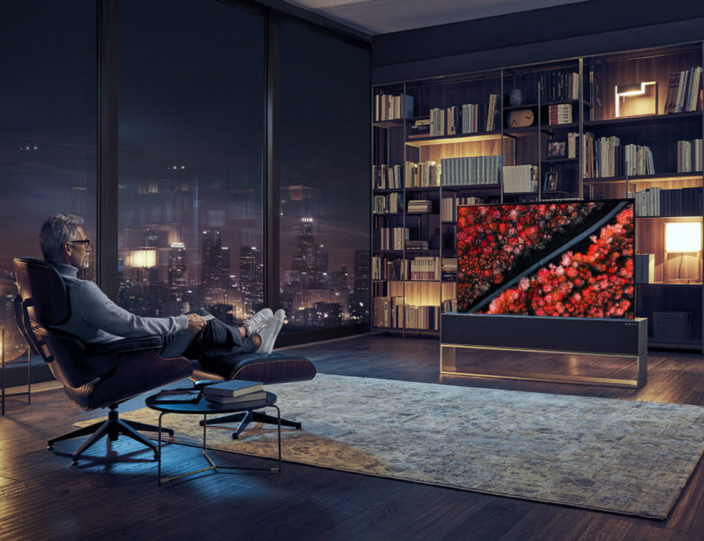 LG+Rollable+OLED+TV
