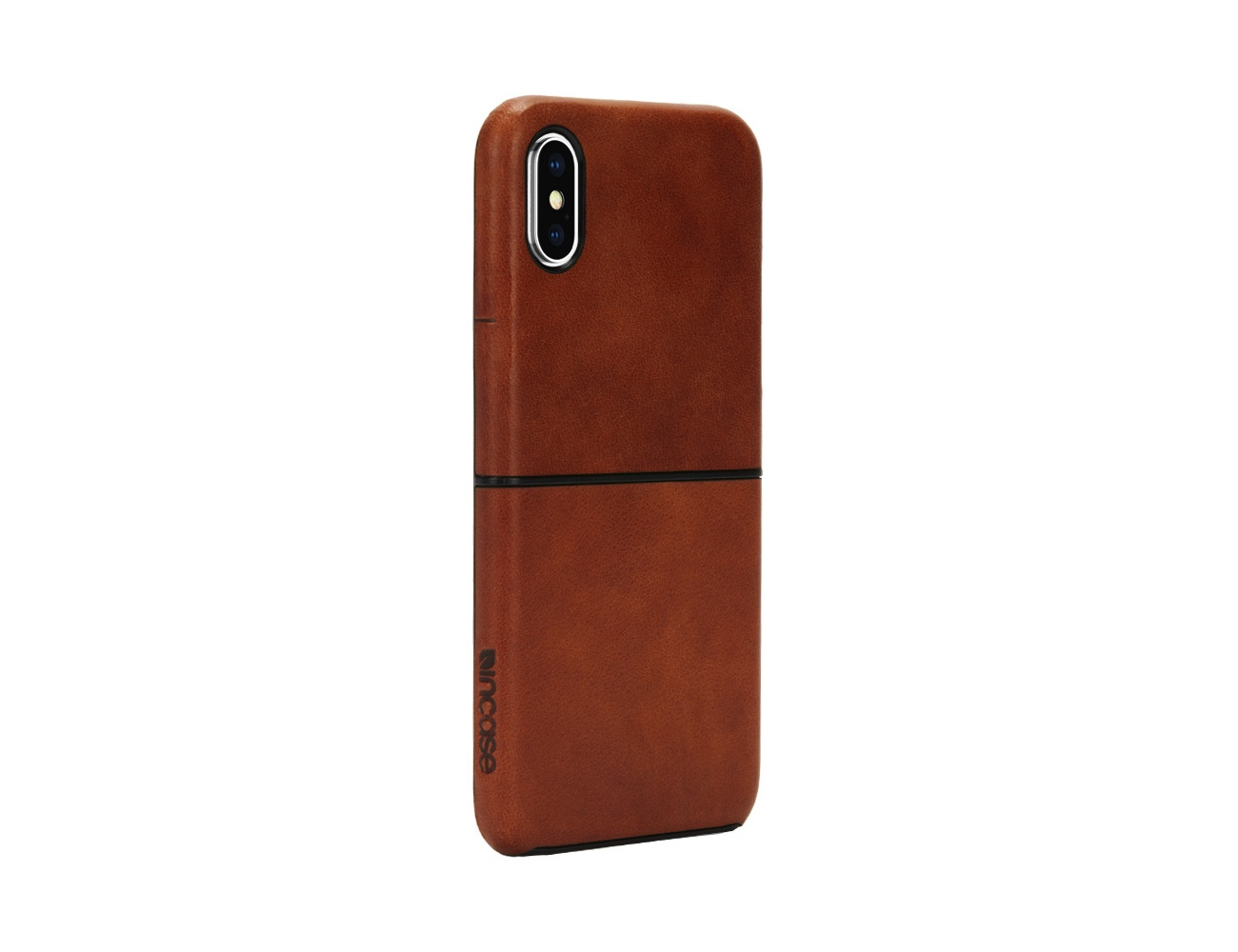 Leather Textured Snap iPhone X Case