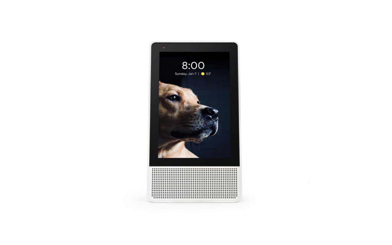 lenovo google assistant smart display gadget flow. Black Bedroom Furniture Sets. Home Design Ideas
