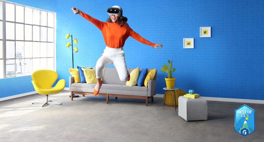 Lenovo Mirage Solo VR Headset CES 2018