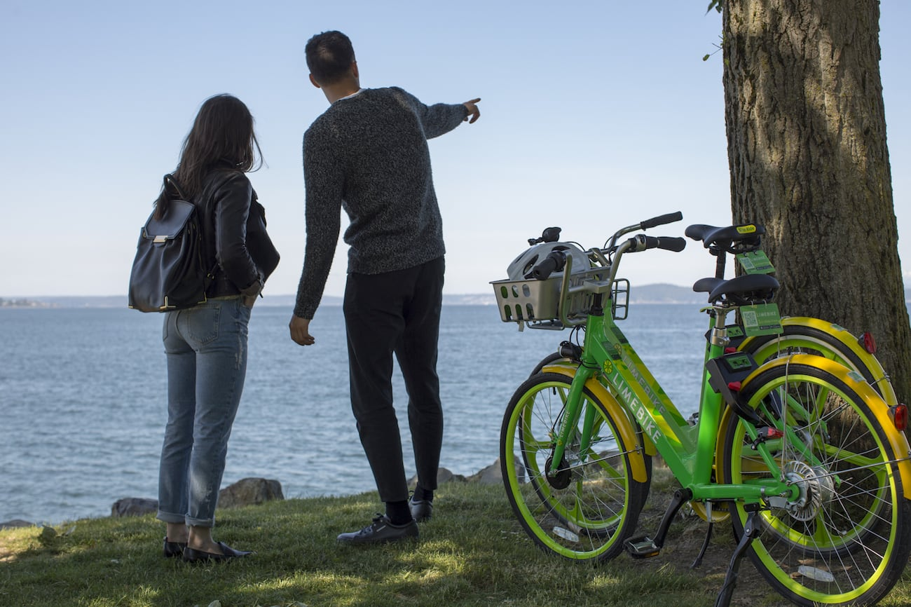 LimeBike Pedal Assist E-Bike