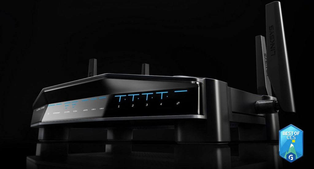 Linksys WRT32XB Gaming Router CES 2018