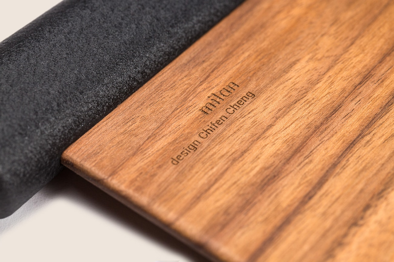 Maison Milan Standing Wooden Knife