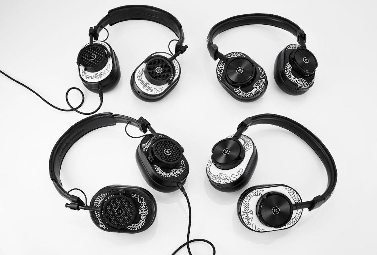 Master & Dynamic Limited Edition Scott Campbell Headphones